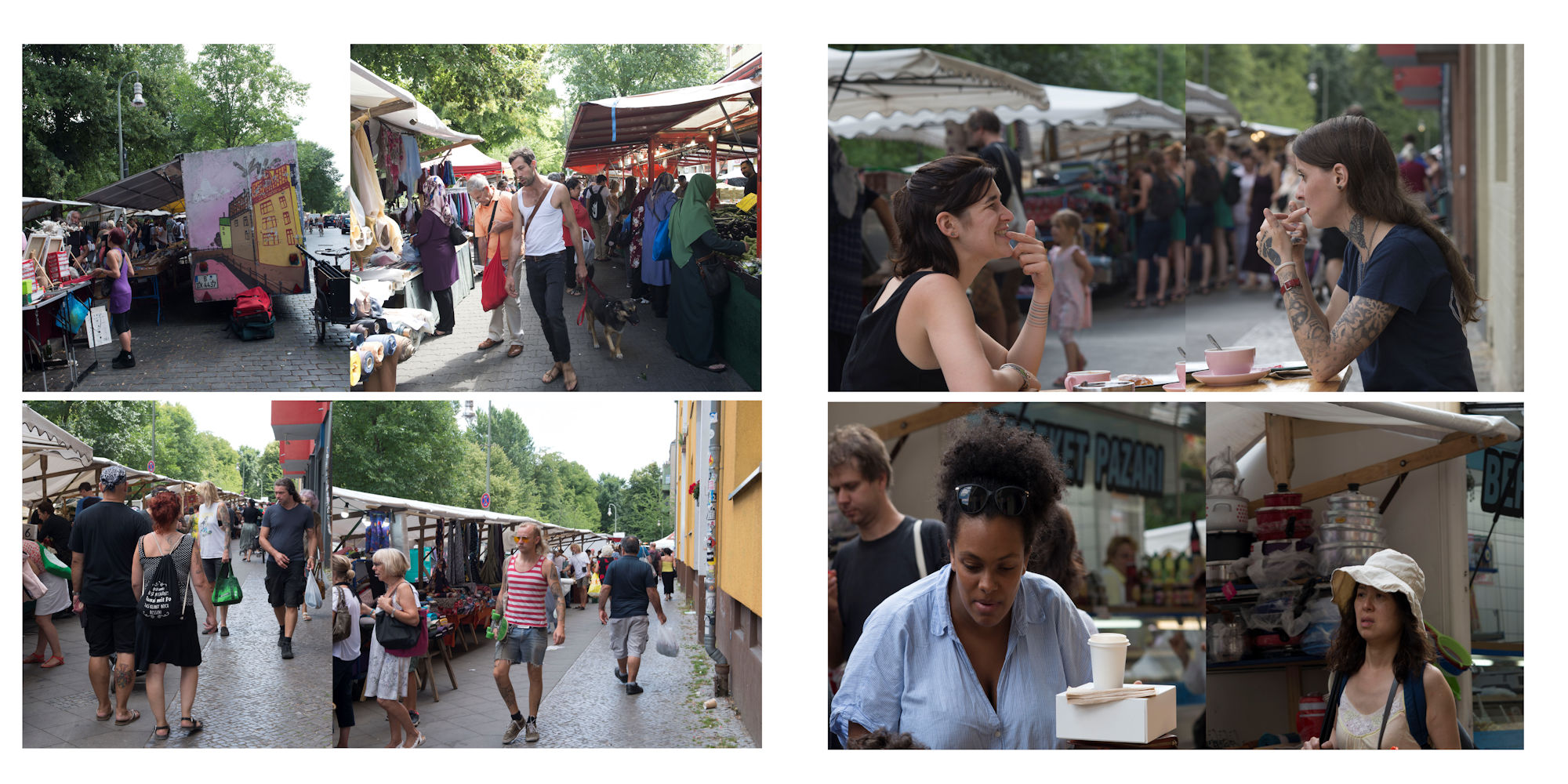 Berlin-2018 Album - Page 32: Markets - Page 23: Pausing for food