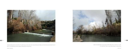Page 146: Jordan River fed by melting snow / Page: 147 Jordan River feeding the Dead Sea
