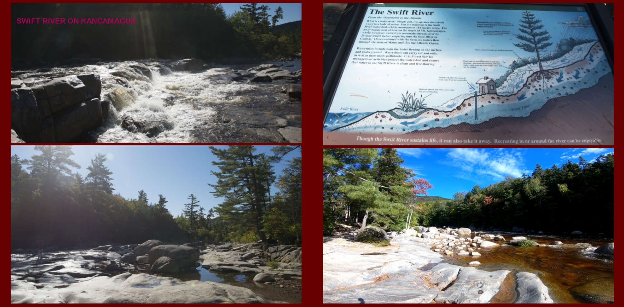 Fall in New-England Album - Page 34: Swift River  - Page 35: Shallow waters