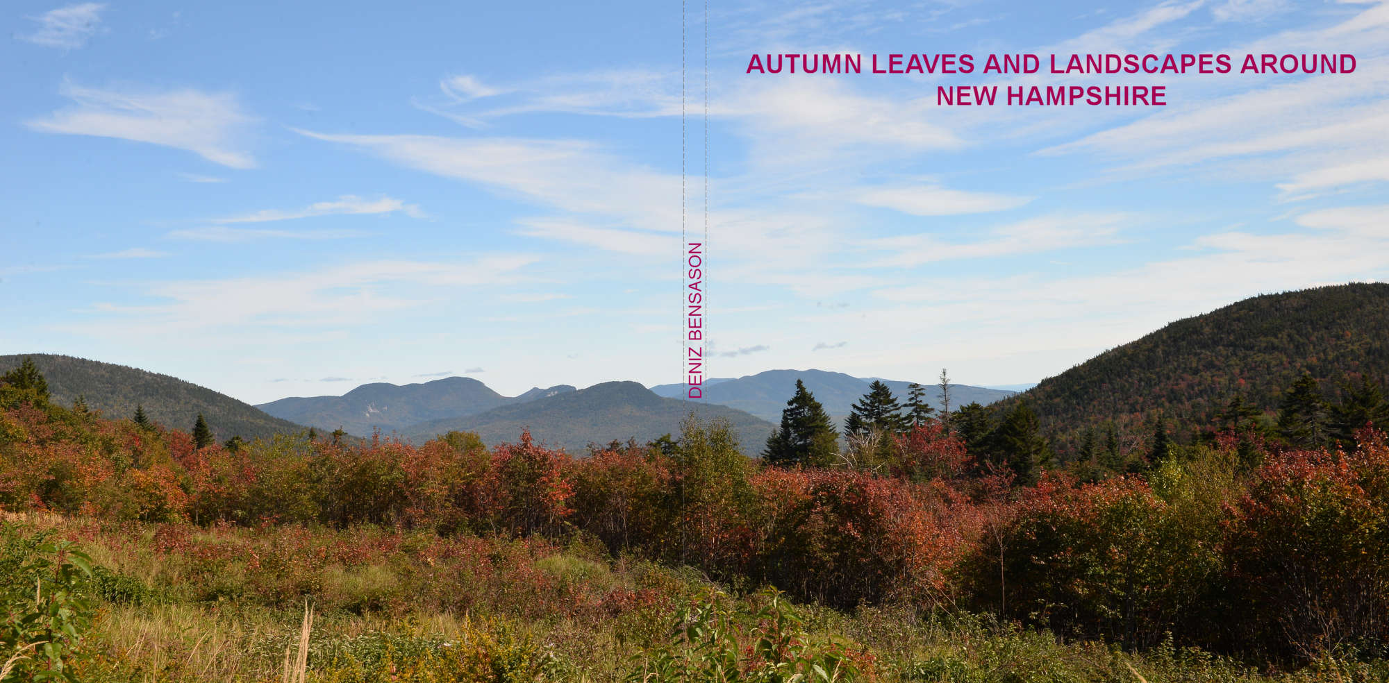 Fall in New-England Album - Cover Pages.