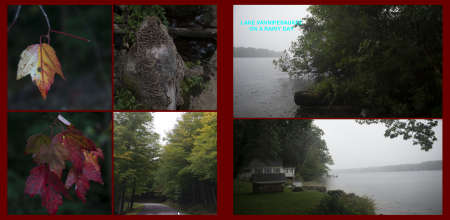 Fall in New-England Album - Page 26: Autumn leaves - Page 27: Lake Winnipesaukee