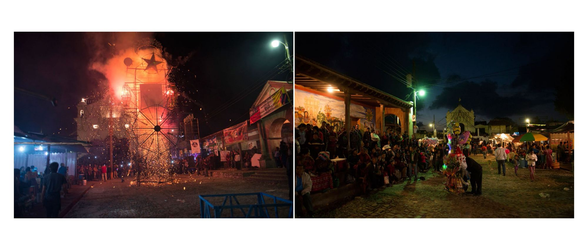 Guatemala Album - Pages 18-19: Fireworks