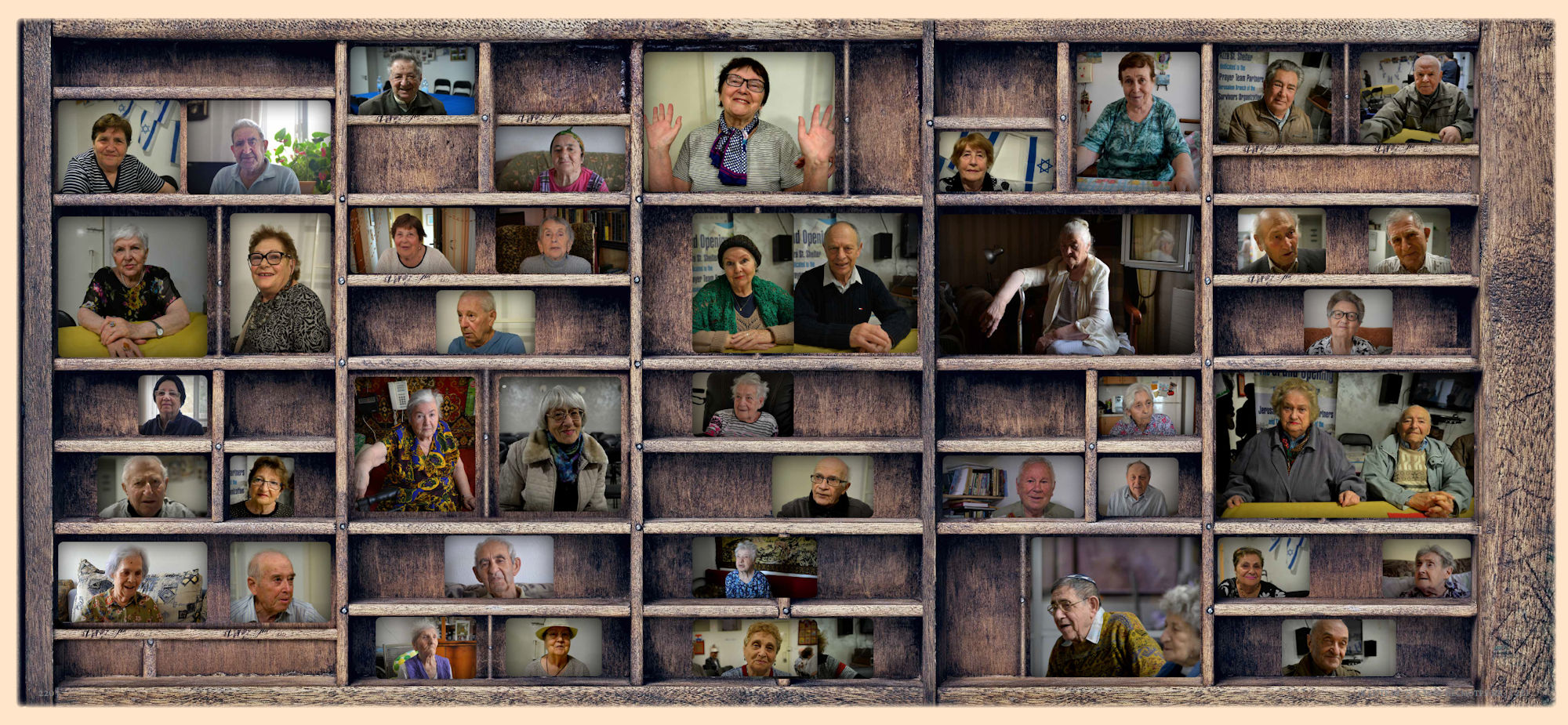 Pages-220-221: Collage of the Survivors