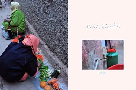 Page 50: Woman Selling Vegetables /  Page 51: Street Markets