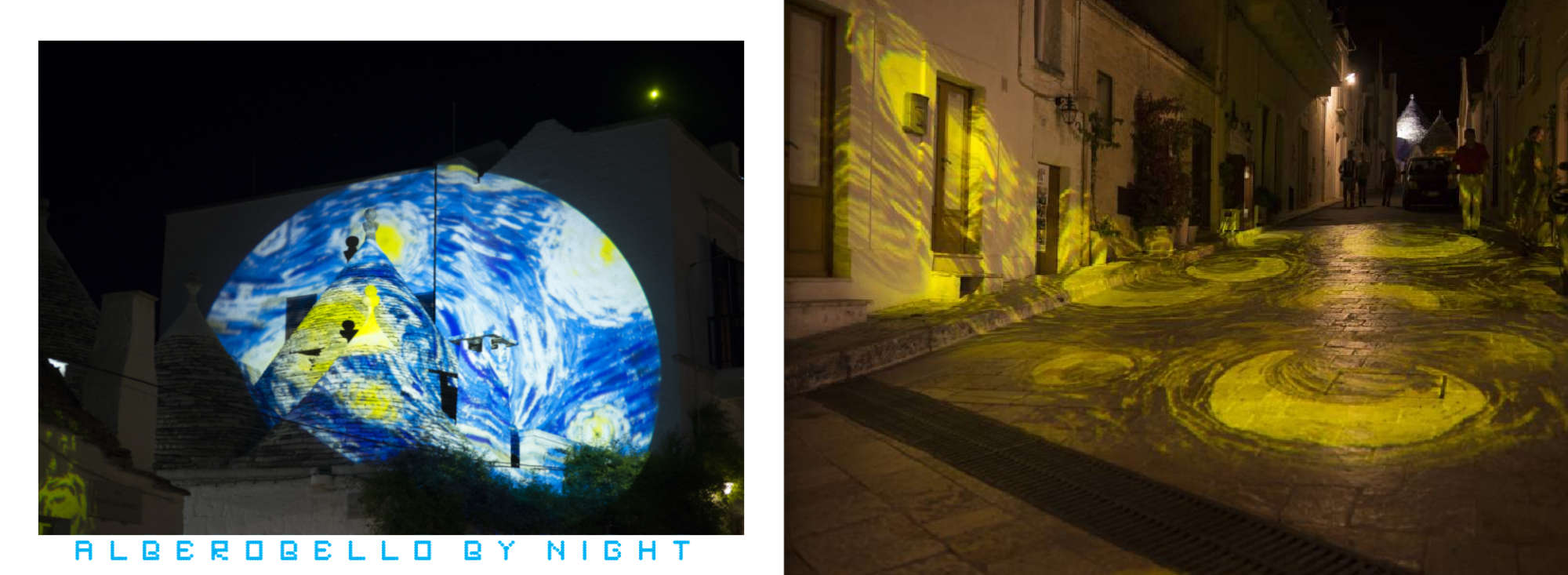 Puglia Album - Pages 46-47: The shifting lights of Alberobello