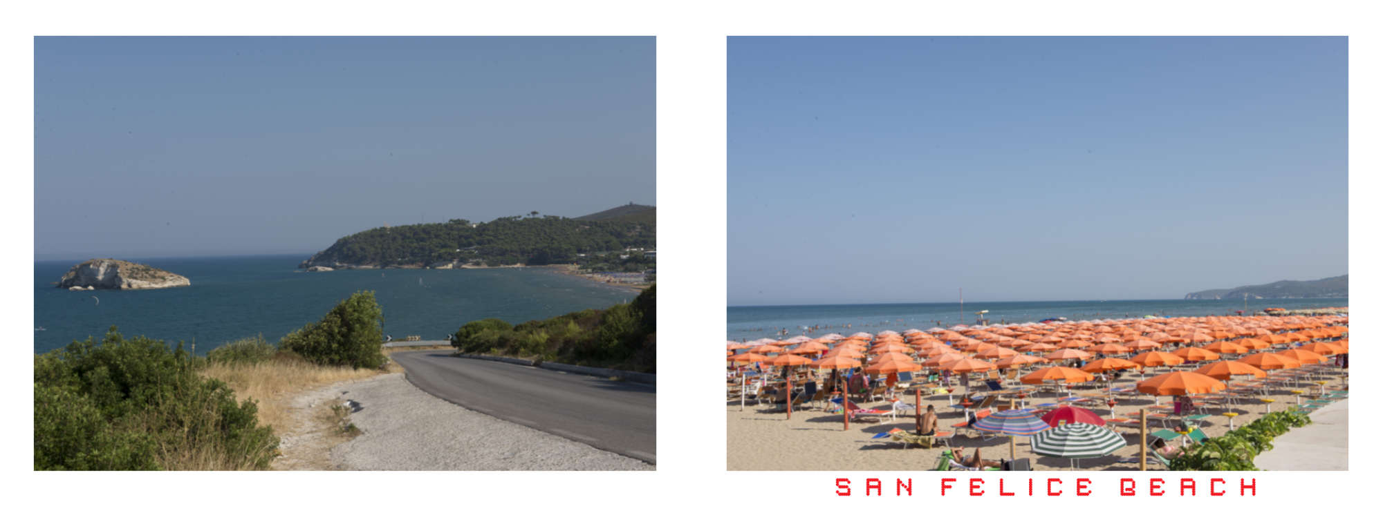 Puglia Album - Page 60: A small island off the coast – Page 61: San Felice Beach