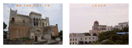 Puglia Album - Pages 16-17:  Luca and its antique monuments