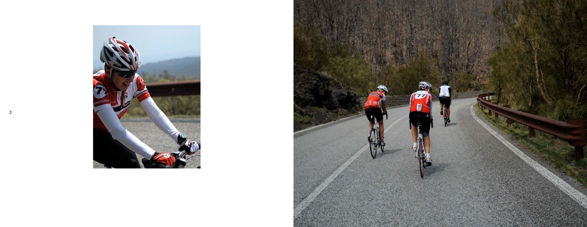 Sicily Album - Page 2:  Never give up / Page3:  The ascent to Mount Etna
