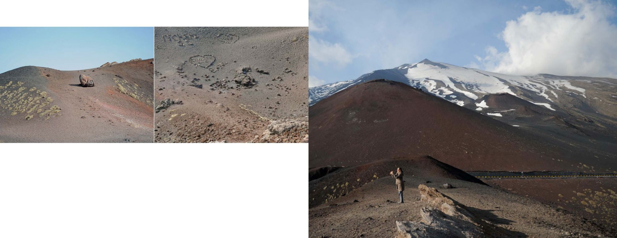 Sicily Album - Pages 62-63: On Mount Etna