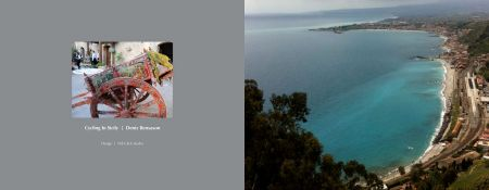 Sicily Album - Front and Back Hardcover