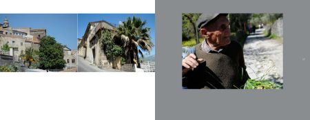 Sicily Album - Page 16: Along the way / Page 17: An old man returning home