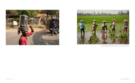 Page 22: Woman carrying big pot / Page 23: Working Women in the Rice Field (Ernakulam Kerala District)