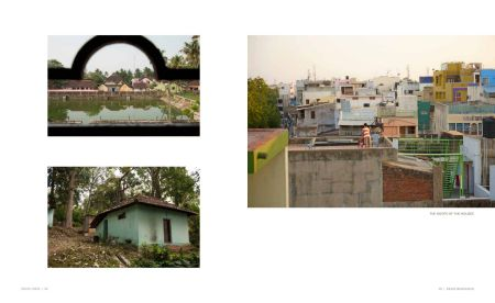 Page 54: A view  of houses /  Page 55: A view of the rooftops