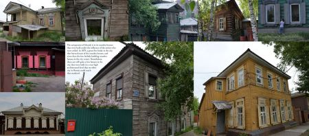 Pages: 114 & 115 – The wooden houses of Irkutsk