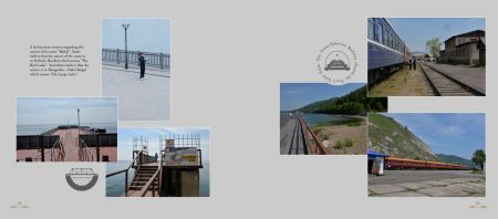 Pages: 132 & 133 - Pictures of and around Baikal Lake