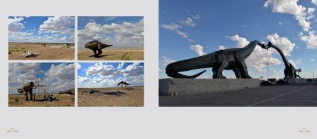 Pages: 196 & 197 - Erlian/Erenhot on the border between Mongolia and China – known as the dinosaur capital