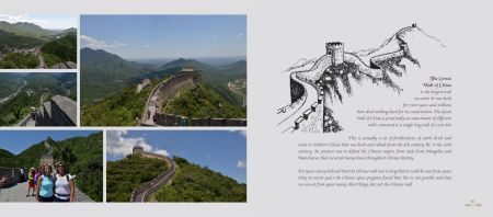 Pages:  226 & 227 - The Great Wall of China