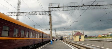 Pages:  86-87 - arriving to Novosibirsk train station