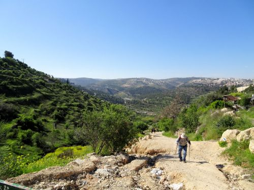 Jerusalem Trail:  Lifta-Jerusalem - Long and lonely road - © Deniz Bensason