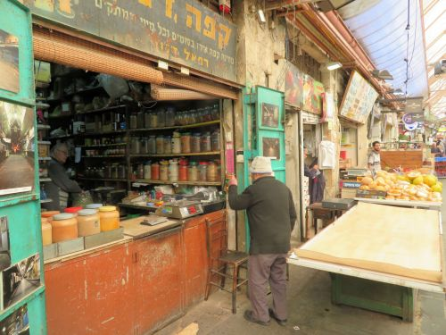 Jerusalem Trail: The Many Faces of the Shuk Mahane Yehuda - Coffee and Spice, and Everything Nice - © Deniz Bensason