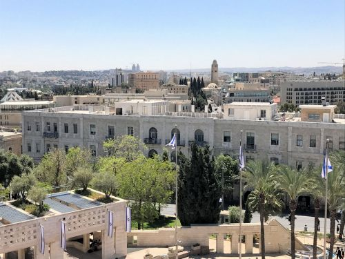 Jerusalem Trail: South: Yaffo, King David Hotel and the YMCA building in the background - © Deniz Bensason