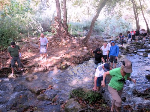 Israel National Trail - Section 01: Crossing the Hasbani