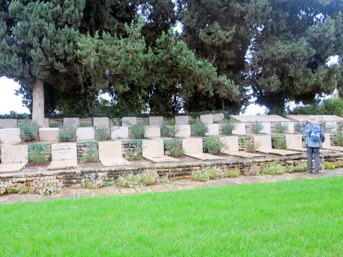Israel National Trail - Section 01: Kfar-Giladi cemetery
