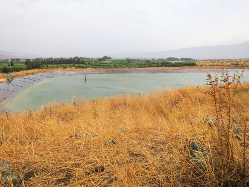 Israel National Trail - Section 01: One of many Reservoirs