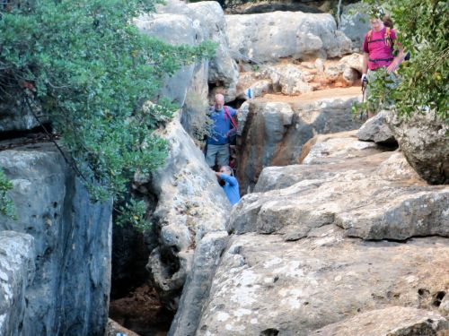 Israel National Trail - Section 01: Slippery stones