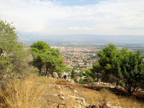 Israel National Trail - Section 02: Above  Kiriat-Shmona