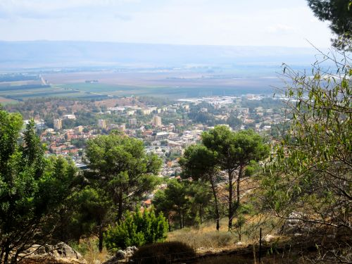 Israel National Trail - Section 02: Over  Kiriat-Shmona
