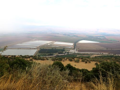 Israel National Trail - Section 02: Fishponds in the Hula Valley