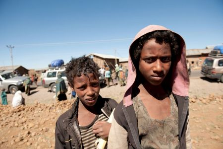 Children of the World: Ethiopia, boys at the market