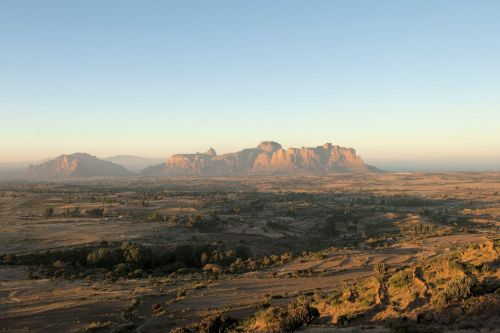 Landscape - Deserts - Ethiopia:Semien Mountains National Park