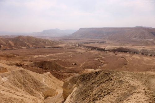 Landscape - Deserts - Wilderness of Zin, Central Negev, Israel