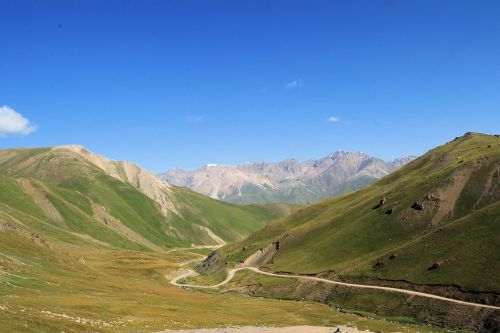 Landscapes/Mountains - Kyrgyzstan: Northern range of the  Tien Shan mountains