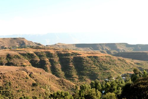 Landscapes/Mountains - Amhara Region, Ethiopia: In the Lalibela Hills