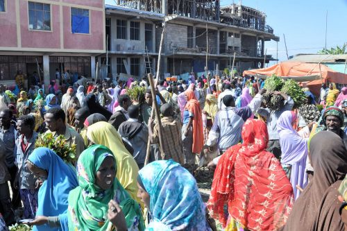 Markets-Patrons & Punters - Harar market, Ethiopia: Colors, Crowds and Commerce