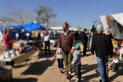 Markets-Patrons & Punters - Netivot, Israel: A stroll through the market