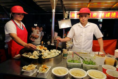 Markets-Vendors - Beijing, China: Food at night market