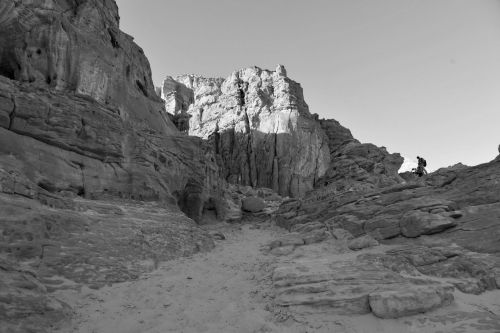 Living-Natue: The Mineral Kingdom - Israel, Eilat, Timna Park: A study in Black & White