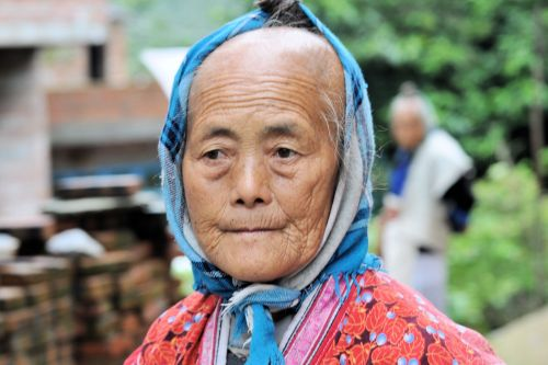 Old-Age – Dali, China: A typical farmer