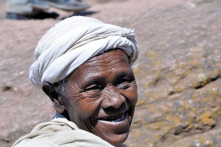 Faces of Ethiopia: Is this a smile?