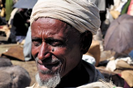 Faces of Ethiopia: A smiling old man