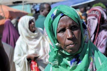 Faces of Ethiopia: A women visiting the market