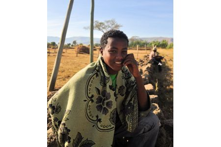 Faces of Ethiopia: Taking a break at the camp
