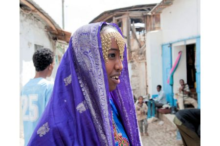 Faces of Ethiopia: Impressive trinkets on an attractive woman