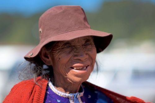 Faces of Guatemala: An elderly woman