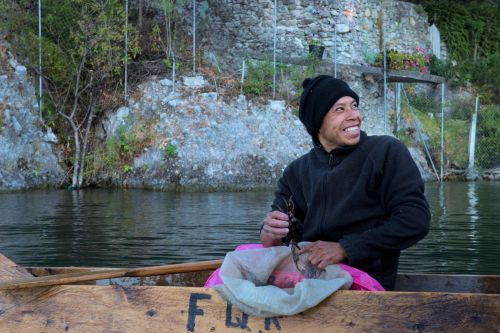 Faces of Guatemala: A happy fisherman