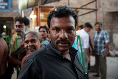 Faces of India: A tough guy, A tough face